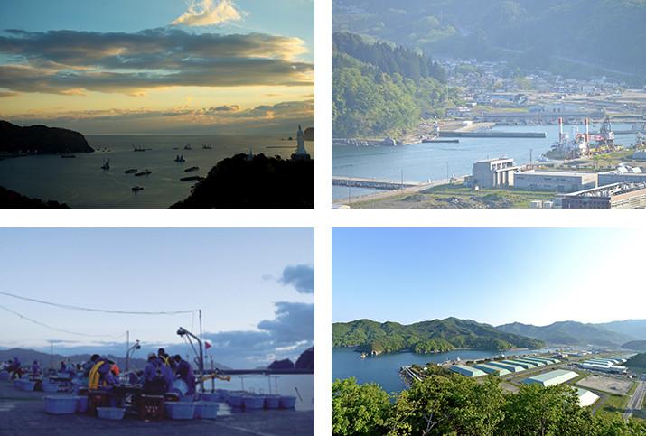 釜石の風景
