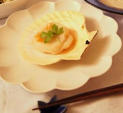 ホタテ料理の写真